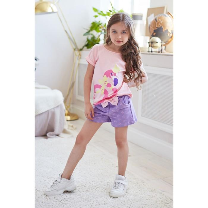 "Футболка KAFTAN ""Ballerina"" р.30 (98-104), розовый - фото 105705350"