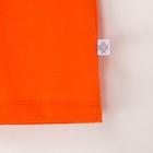 """Комплект: футболка и шорты KAFTAN """"Монстр"""" р.28 (86-92), оранжевый, серый - фото 105468649"""