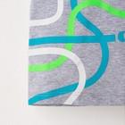 """Комплект: футболка и шорты KAFTAN """"Дрифт"""" р.30 (98-104), чёрный, серый - фото 105468731"""
