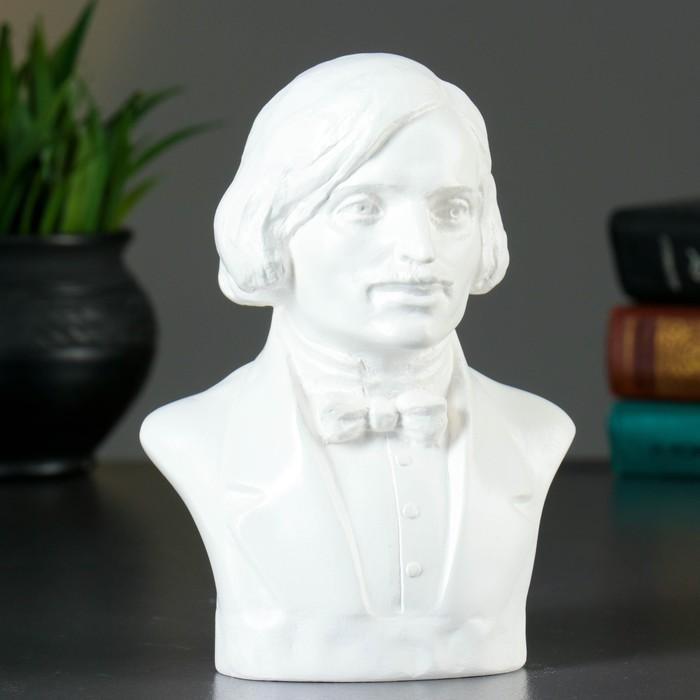 Бюст Гоголь / белый, арт. 298-1