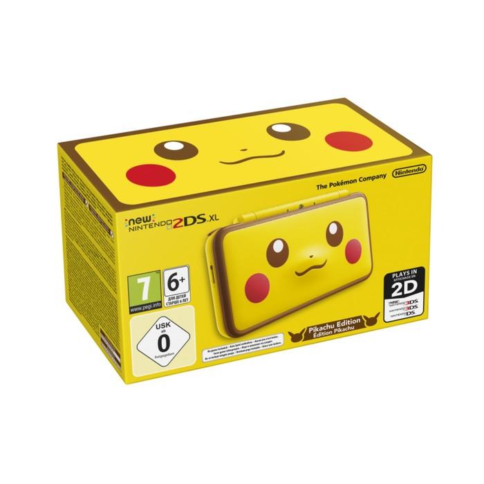 Игровая приставка New Nintendo 2DS XL Pikachu Edition. Ограниченное издание