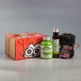 Подарочный набор с органической косметикой на 8 марта «Восторг, подарки и любовь»
