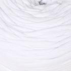 "Трикотажная лента ""TRIKO"" 92% хлопок, 8% эластан 100м/500гр (белый)"