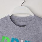 """Комплект: футболка и шорты KAFTAN """"Дрифт"""" р.28 (86-92), чёрный, серый - фото 105468761"""