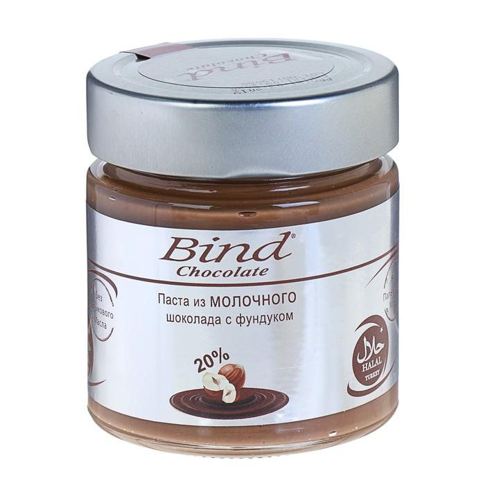 Паста из молочного шоколада с фундуком (250 гр)