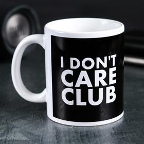 "Mug ""I don't care club"". 300 ml"