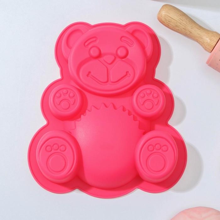 "Baking 18х14,5x4 cm ""Bear"", MIX color"