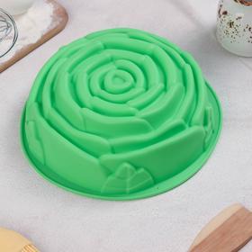 Форма для выпечки Доляна «Роза», 21×9 см, цвет МИКС