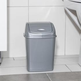 Ведро для мусора 5 л, цвет МИКС