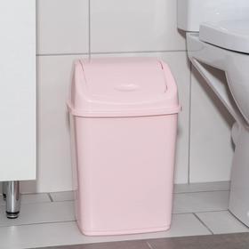 Ведро для мусора 10 л, цвет МИКС