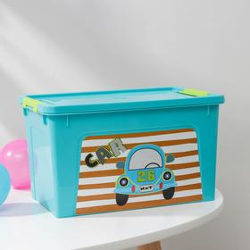 Контейнер с декором Алеана Smart Box, 3,5 л, цвет МИКС Ош