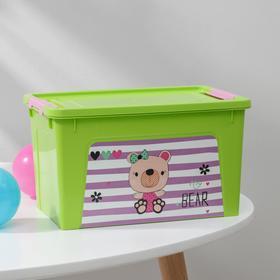 """Контейнер с декором Pet Shop 3,5 л """"Smart Box"""", цвет МИКС"""