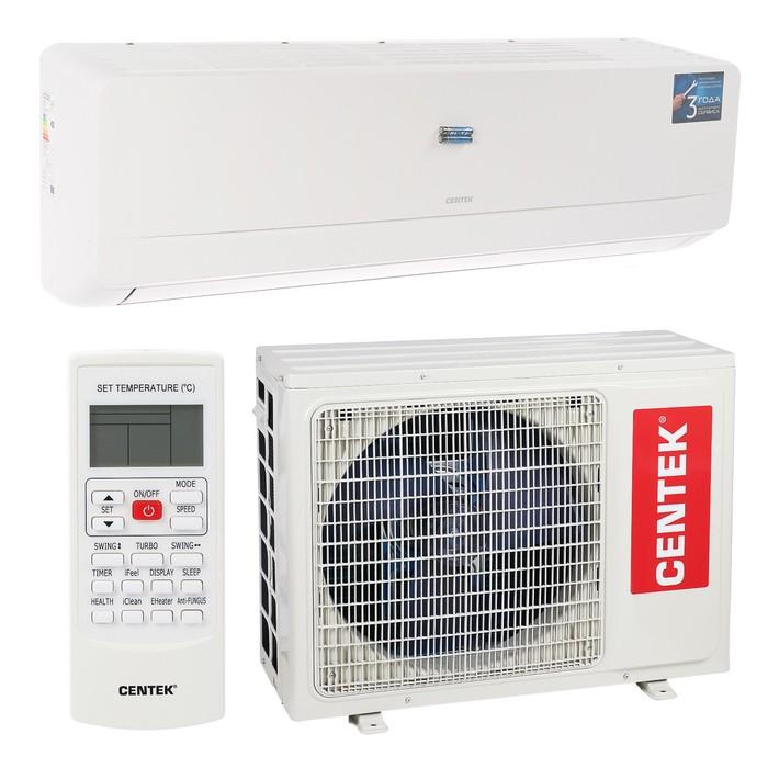 Сплит-система Centek CT-65D24, настенная, охлажд. 7100 Вт, нагрев 5450 Вт, ON/OFF, белая