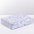 Складная коробка «Счастье греет», 32 × 23 × 6.5 см