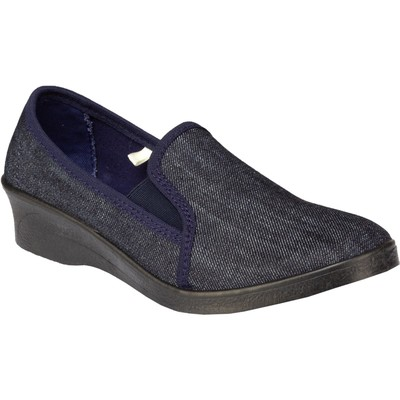 """Walking shoes textile women's """"Emanuela"""", color blue, size 36"""