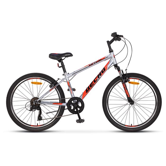 """Велосипед 24"""" Десна Метеор, V010, цвет оранжевый/белый, размер 14"""""""