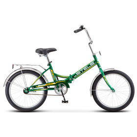 """Велосипед 20"""" Stels Pilot-410, Z011, цвет зелёный/жёлтый, размер 13,5"""""""
