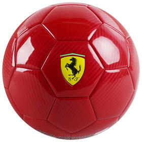 Мяч футбольный FERRARI, размер 5, CARBON, PU, EVA, резина, 450 г