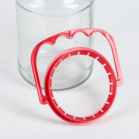Handle for glass jars, d = 82 mm, MIX color