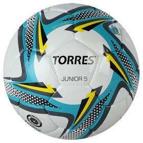 Мяч футбольный TORRES Junior-5, F318225, размер 5, PU, 390-410 г