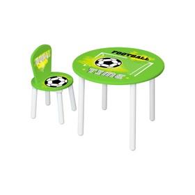 Набор детской мебели Polini Kids Fun «Футбол», цвет зелёный