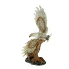 """Сувенир """"Орёл с золотистым орнаментом на крыльях"""""""