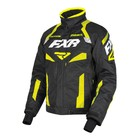 Куртка FXR Octane с утеплителем, размер S, чёрный, жёлтый