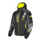 Куртка FXR Renegade X4 с утеплителем, размер L, чёрный, жёлтый, серый