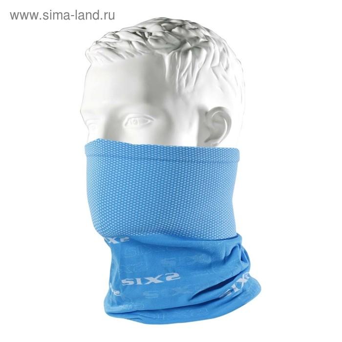 Бандана-труба SIXS TBX многофункциональный, голубой