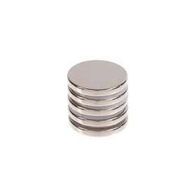 Неодимовый магнит REXANT, диск 15х2 мм, сцепление 2.3 кг, 5 шт. в Донецке
