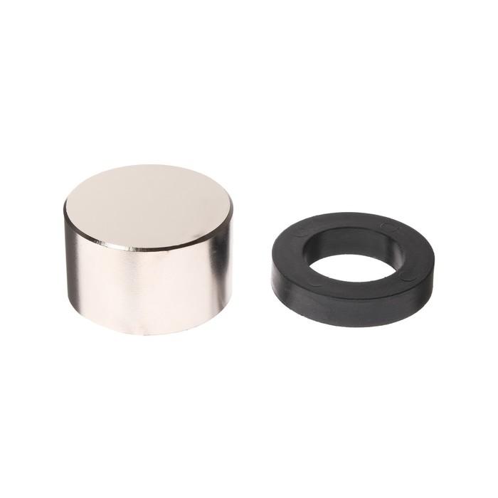 Неодимовый магнит REXANT, диск 50х30 мм, сцепление 116 кг