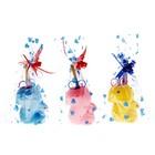 """Настольный набор детский """"Белочка"""" из 5 предметов: подставка, ножницы, линейка, 2 карандаша, МИКС"""