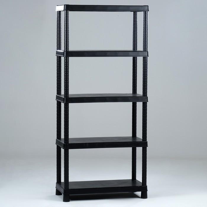 Стеллаж СЛ10, 350х700х1600, Черный