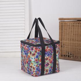 Bag-thermo, 7 l, division zipper, color multi-colored
