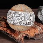 """Сувенир """"Шар под дерево с африканским орнаментом"""""""