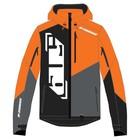 Куртка 509 R-200 с утеплителем, размер L, оранжевый, серый