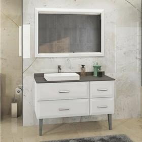 Зеркало COMFORTY «Империя-120» белый