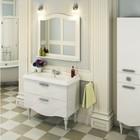 Зеркало COMFORTY «Монако-100» белый
