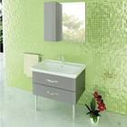 Зеркало-шкаф COMFORTY «Рим-80» серый