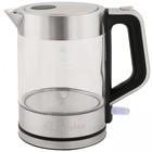 Чайник электрический GEMLUX GL-EK-601G, 2200 Вт, 1.5 л, автоотключение