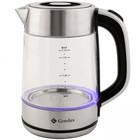 Чайник электрический GEMLUX GL-EK891G, 2200 Вт, 1.7 л, подсветка, автовыключение