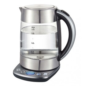 Чайник электрический GEMLUX GL-EK975G, 2200 Вт, 1.7 л, терморегулятор, автоотключение