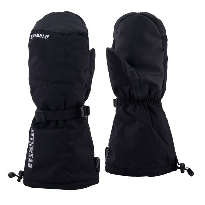Рукавицы Jethwear Polar с утеплителем, размер XS, чёрный