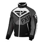 Куртка FXR Fuel с утепленной вставкой, размер L, чёрный, серый, белый