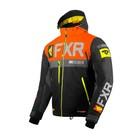 Куртка FXR Helium X с утепленной вставкой, размер L, чёрный, оранжевый, жёлтый, серый