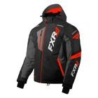 Куртка FXR Mission FX с утепленной вставкой, размер L, чёрный, серый, красный
