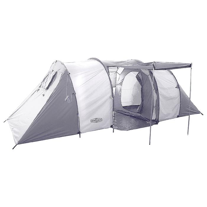 Палатка туристическая CANYON, 570 х 240 х 182 см, 6-х местная, цвет серый