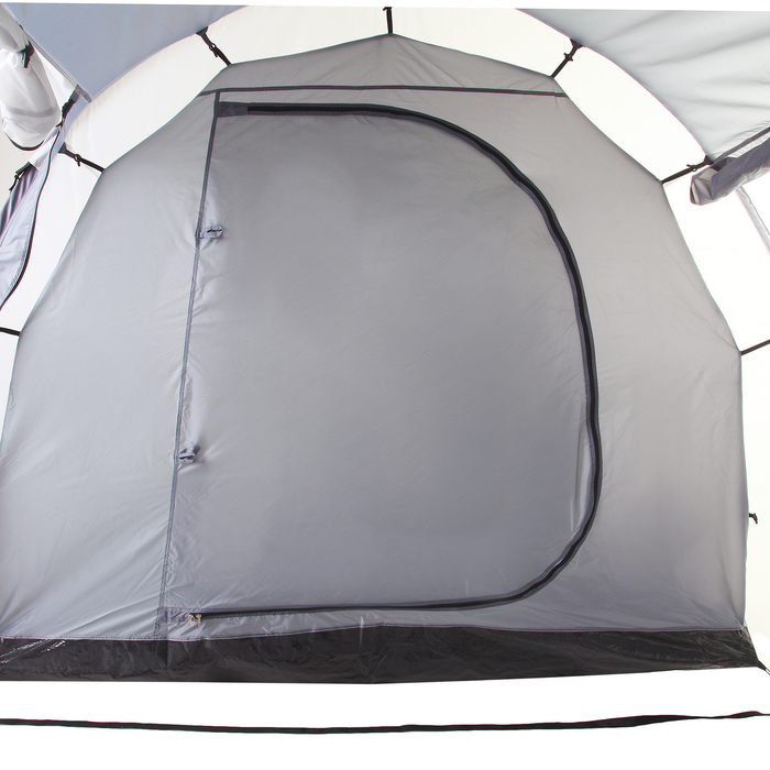 Палатка туристическая CANYON, 570 х 240 х 182 см, 6-х местная, цвет серый - фото 36258
