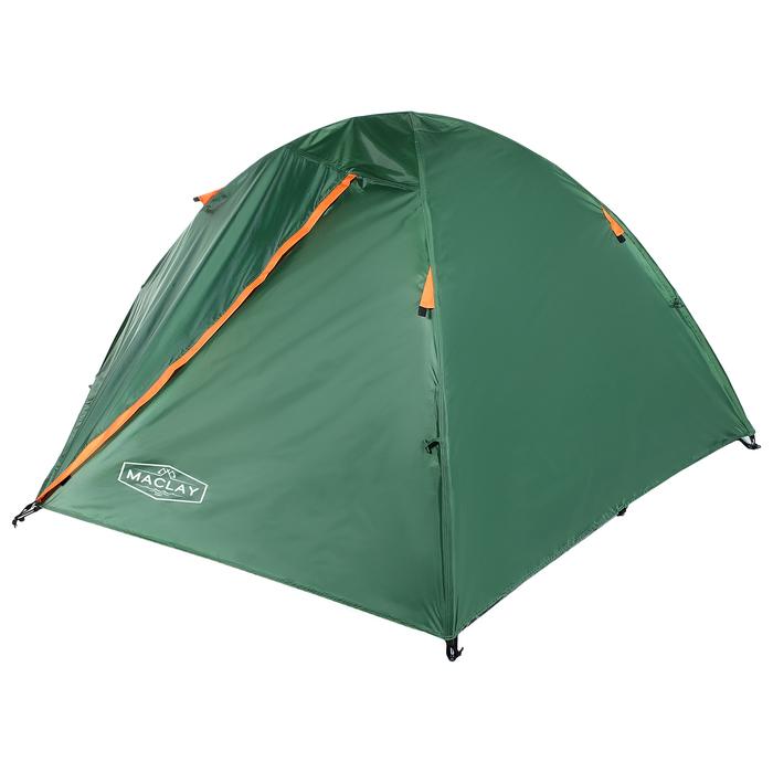 Палатка туристическая ROOT, 210 х 210 х 110 см, 2-х местная, цвет зелёный - фото 36266