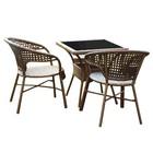"""Набор мебели """"Монреаль Мини"""",в наборе: стол, 2 стула, искусственный роттанг"""